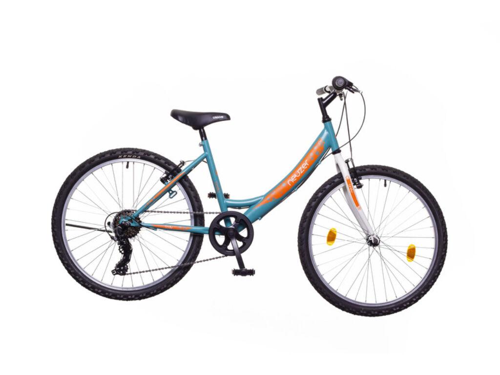 NEUZER CINDY 24 6S gyerek MTB kerékpár, türkiz / fehér-sárga