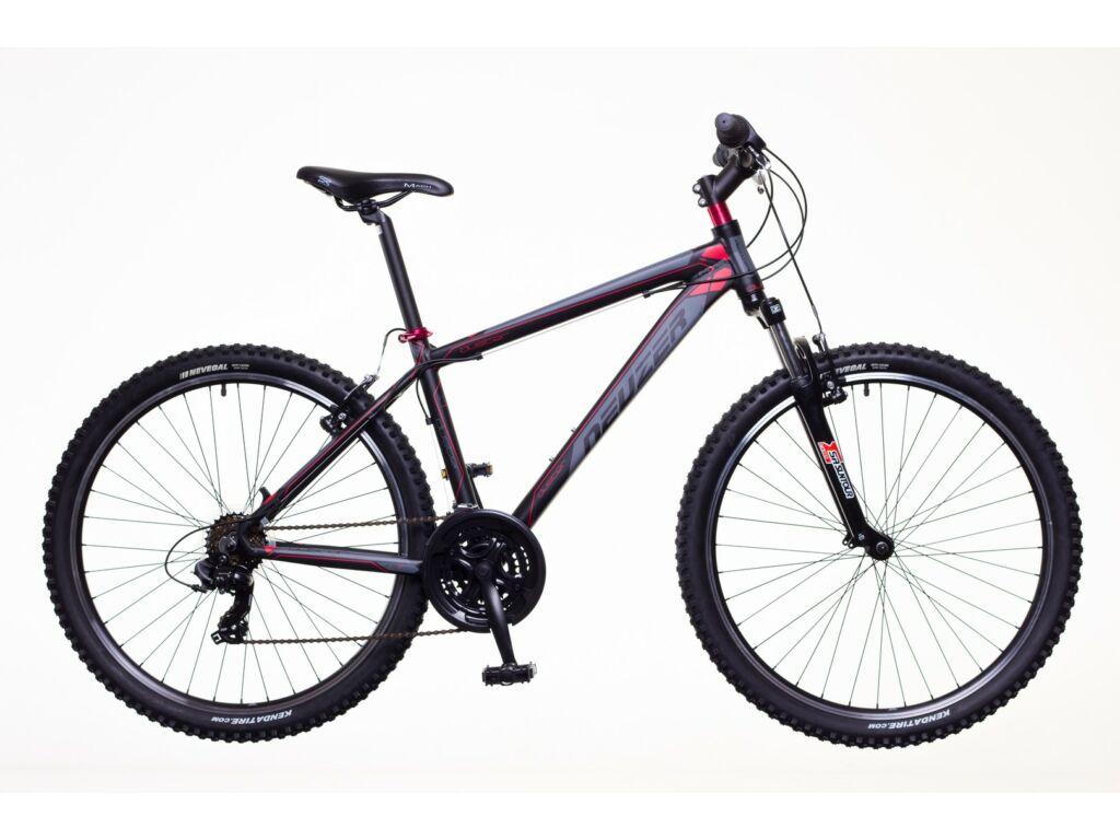 NEUZER Duster Hobby férfi MTB hardtail kerékpár, fekete / pink-szürke