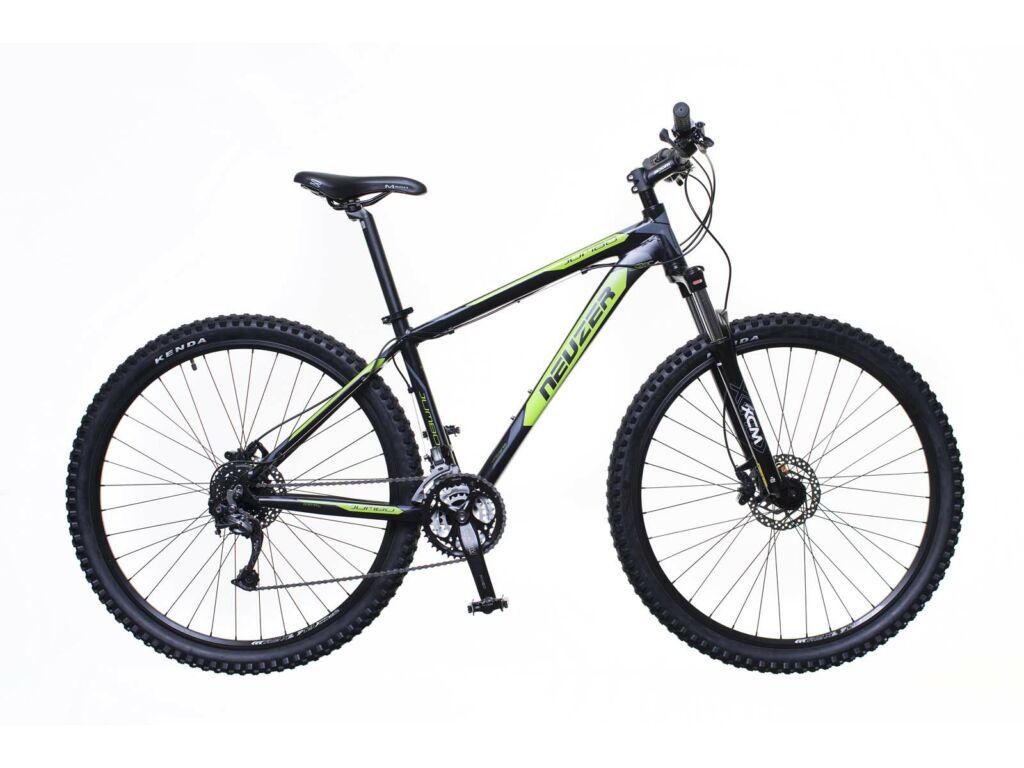 NEUZER Jumbo Comp Hydr férfi MTB hardtail kerékpár, fekete / zöld-szürke