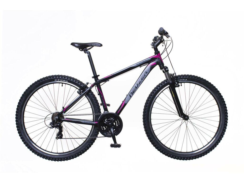 NEUZER Jumbo Hobby férfi MTB hardtail kerékpár, fekete / pink-szürke