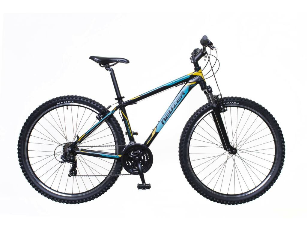 NEUZER Jumbo Hobby férfi MTB hardtail kerékpár, fekete / türkiz-sárga