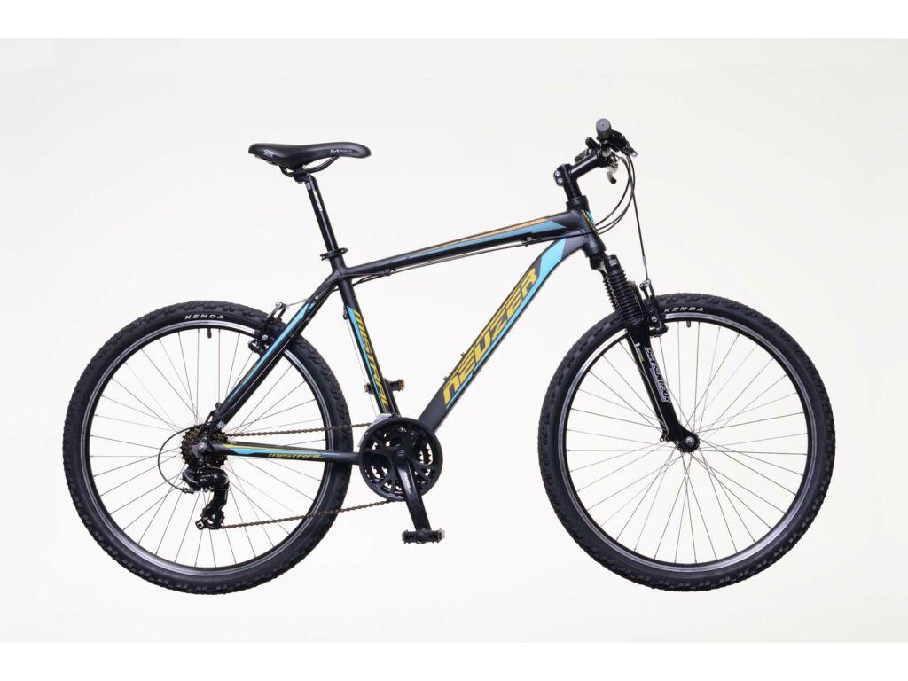 NEUZER Mistral 50 férfi MTB kerékpár, fekete / narancs-türkiz