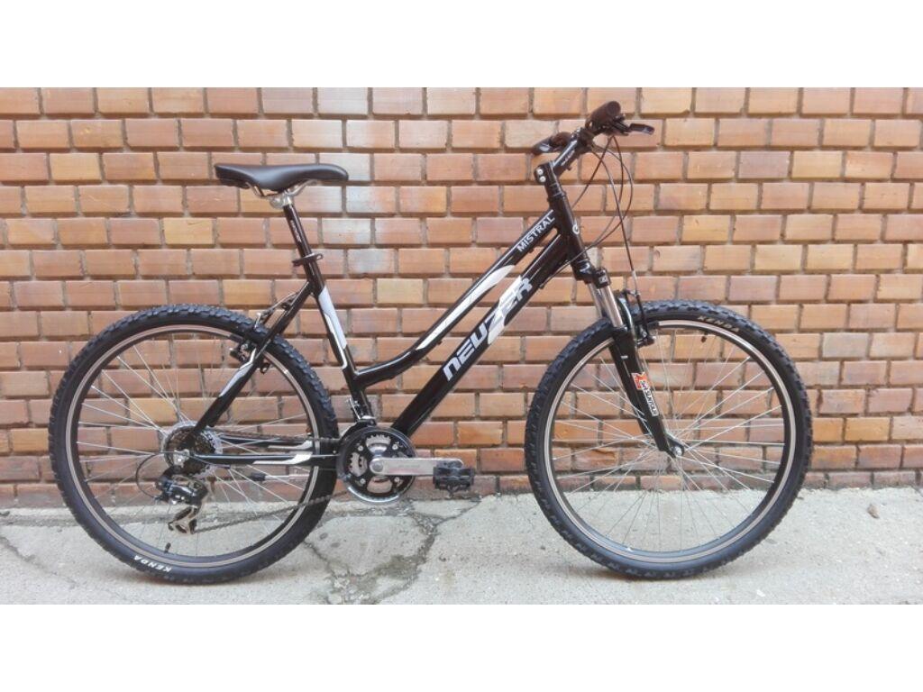 NEUZER Mistral 50 Lady női MTB kerékpár - fekete / fehér - 15''