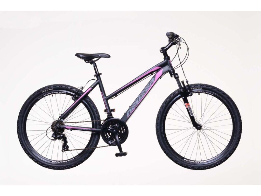 NEUZER Mistral 50 női MTB kerékpár, fekete / pink-szürke