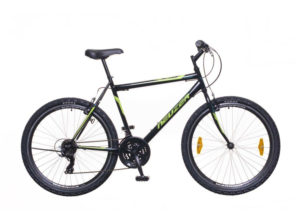 NEUZER Nelson 30 férfi MTB kerékpár, fekete / neonzöld-zöld