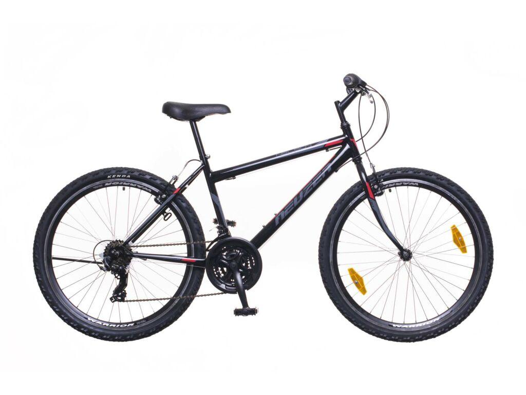 NEUZER Nelson 30 férfi MTB kerékpár, fekete / szürke-piros