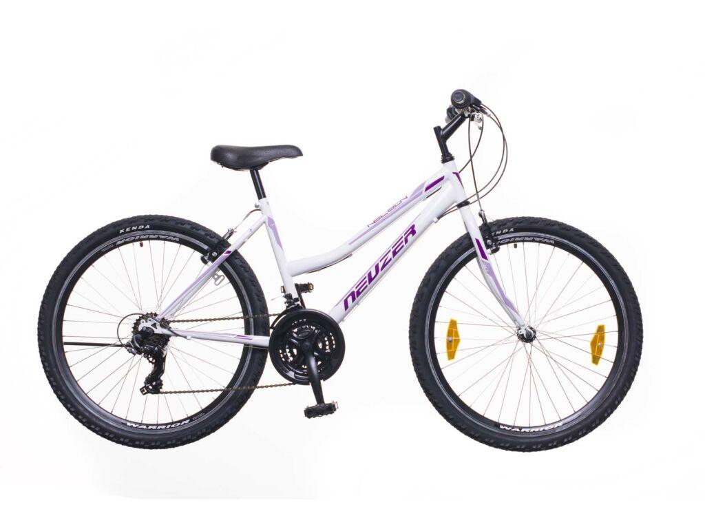 NEUZER Nelson 30 női MTB kerékpár, fehér / bíbor-mályva