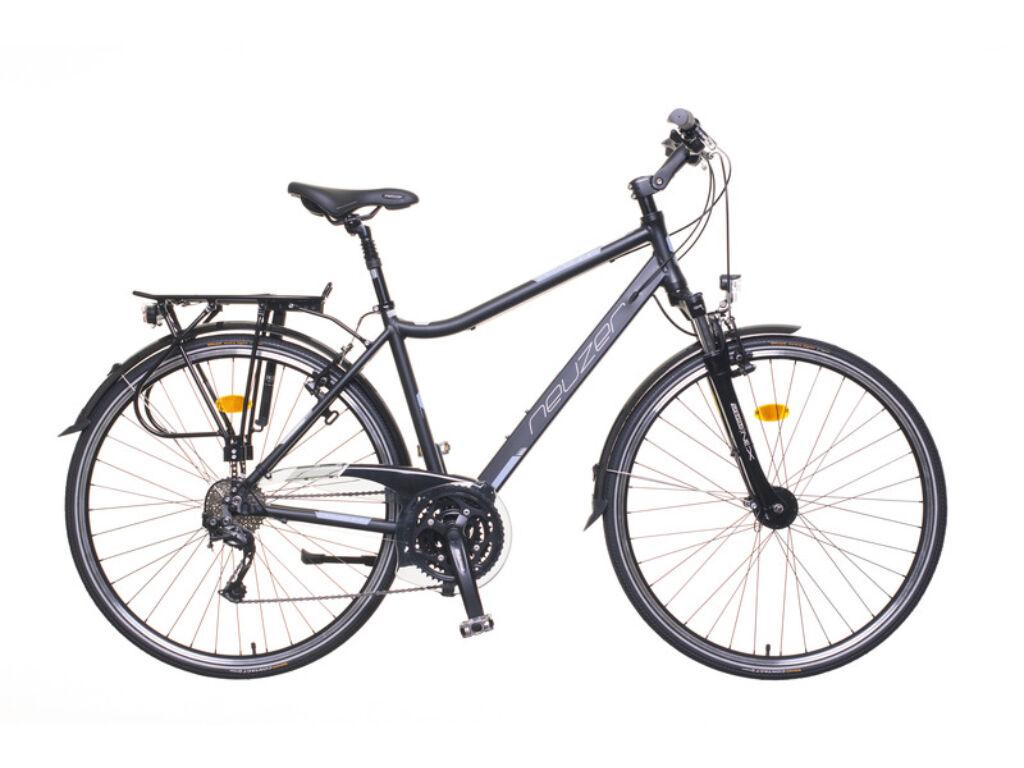 NEUZER Ravenna 200 férfi trekking kerékpár, fekete / szürke-szürke (matt)