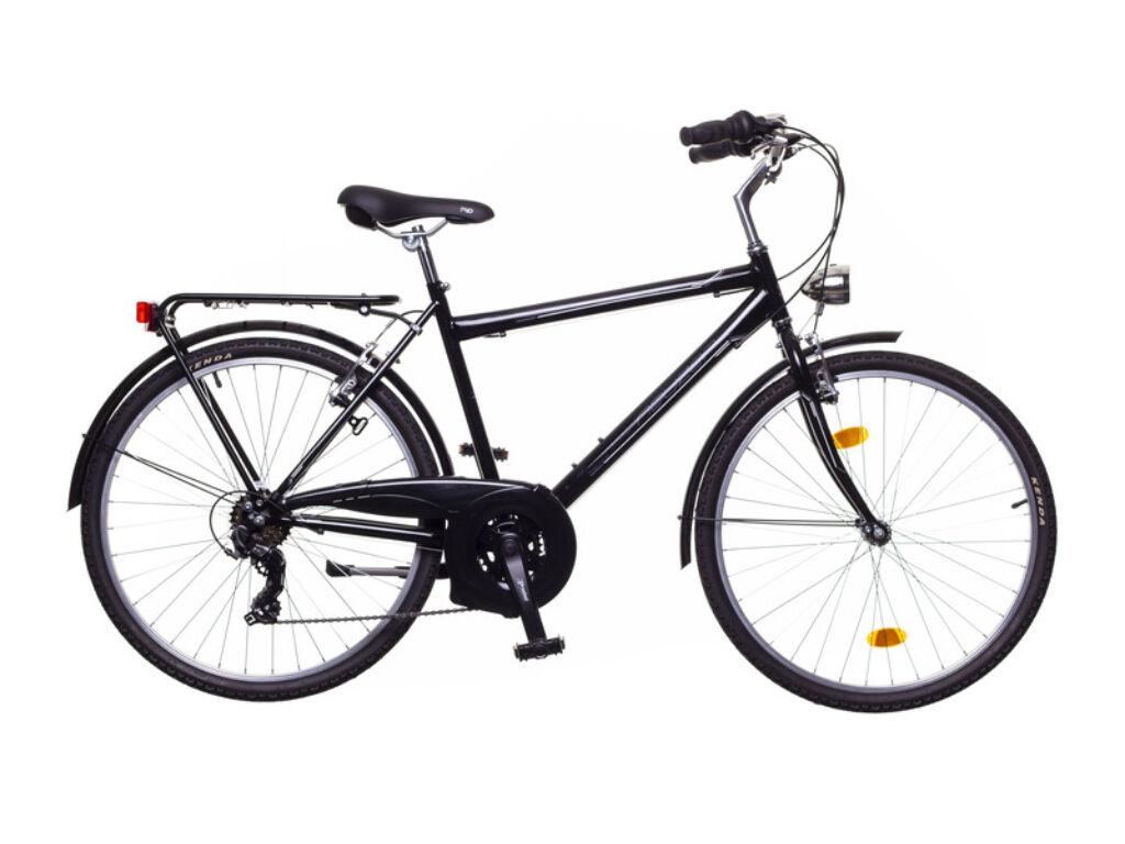 NEUZER Ravenna 30 férfi trekking kerékpár, fekete / szürke-fehér