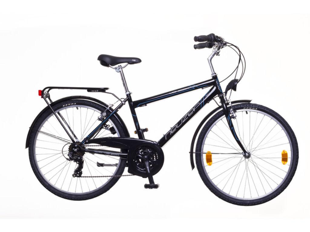 NEUZER Venezia 30 férfi trekking kerékpár, fekete / szürke-fehér