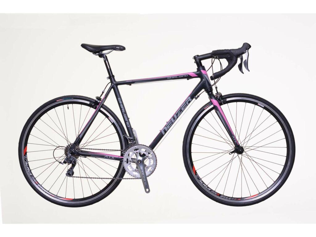 NEUZER Whirlwind 100 országúti kerékpár, fekete / rózsaszín-fehér
