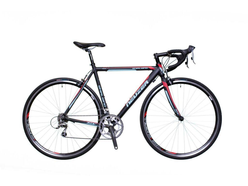 NEUZER Whirlwind 200 országúti kerékpár, fekete / türkiz-pink