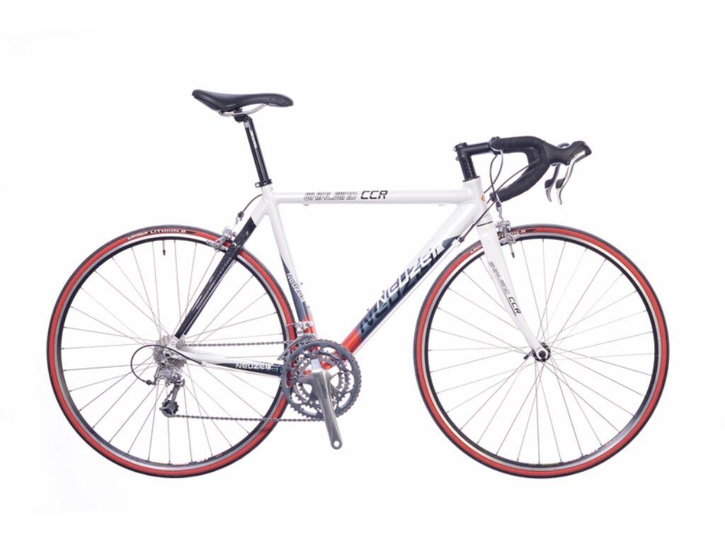 NEUZER Whirlwind Race országúti kerékpár, fehér / szürke-piros