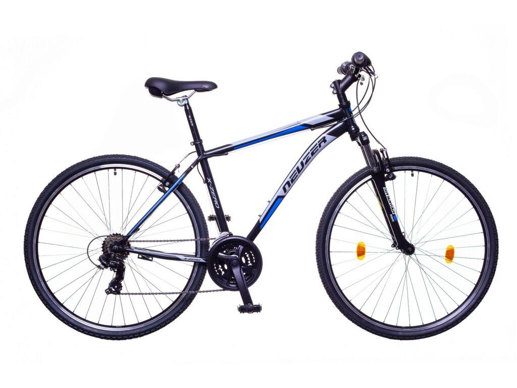NEUZER X-Zero férfi cross kerékpár, fekete / kék-szürke