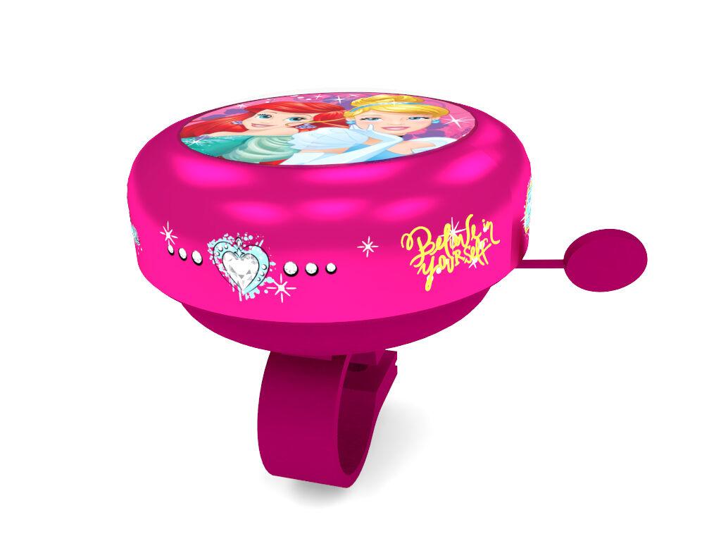 Gyermek kerékpár csengő, Disney hercegnős, pink