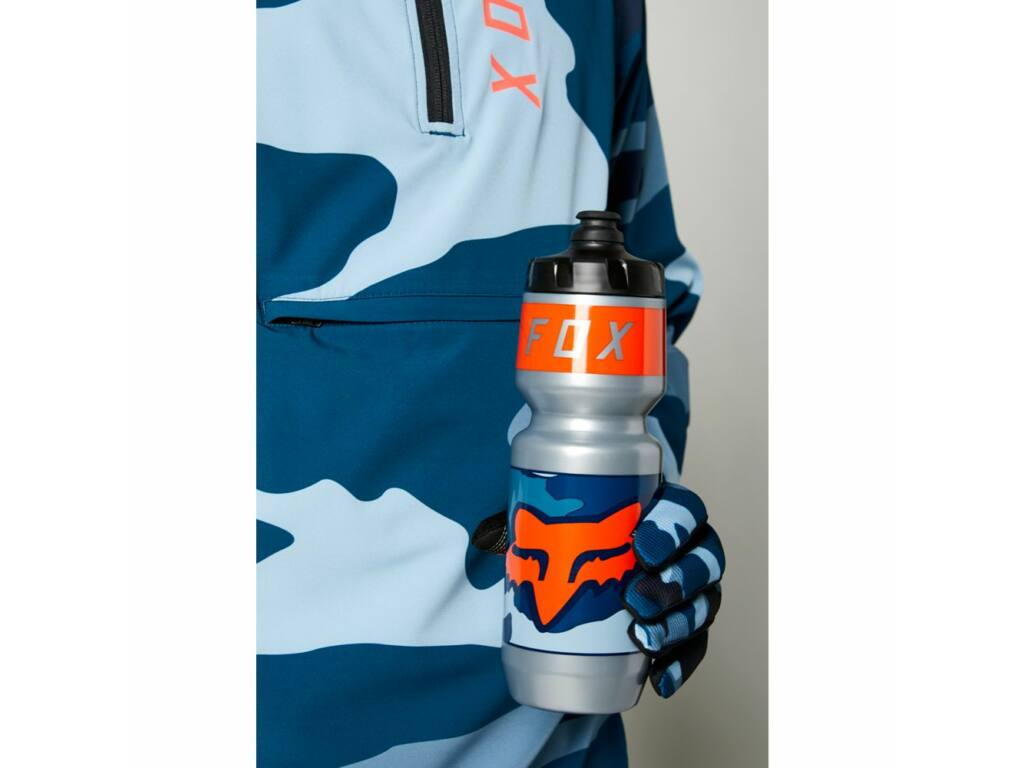 FOX Purist Refuel MTB kerékpáros kulacs - 750ml - Blue Camo