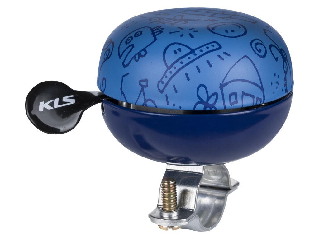 KELLYS Bell 60 Doodles kerékpár csengő, kék