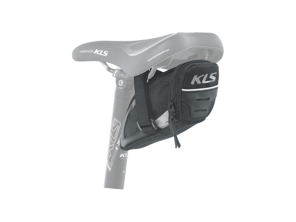 KLS Challenger nyeregtáska, tépőzáras, S