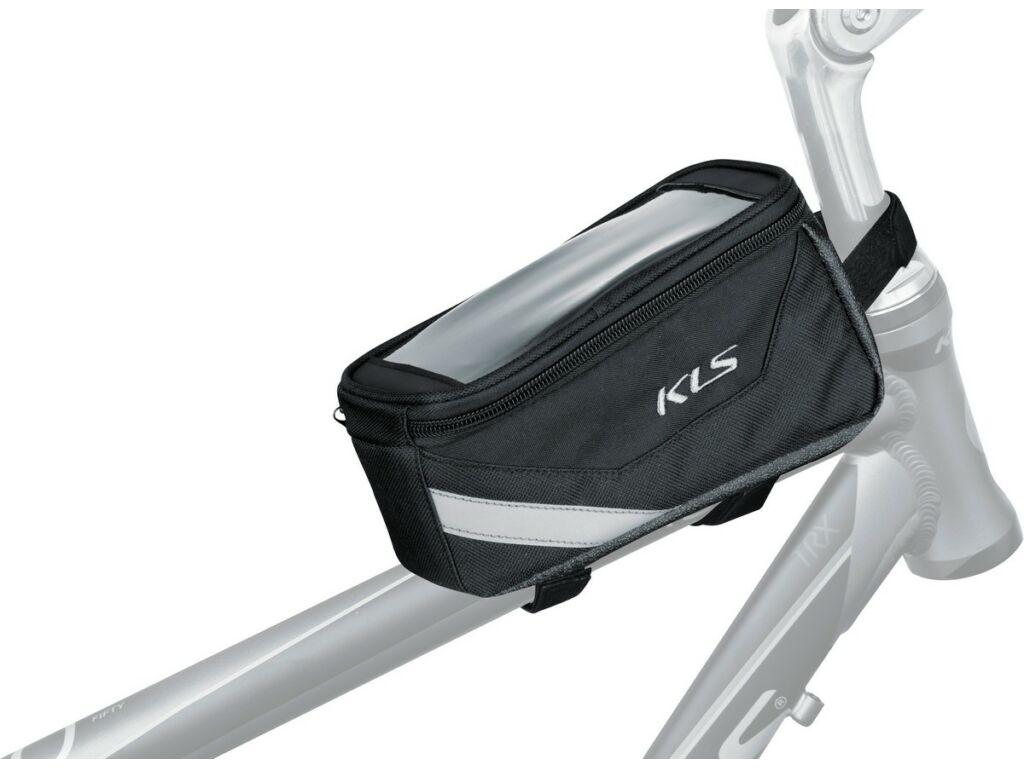 KLS Brick táska felső vázcsőre, okostelefon tartóval