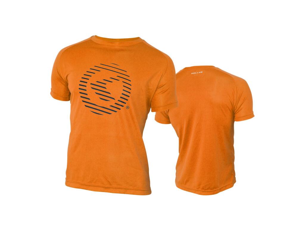 KELLYS ACTIVE rövid ujjú poló, narancssárga