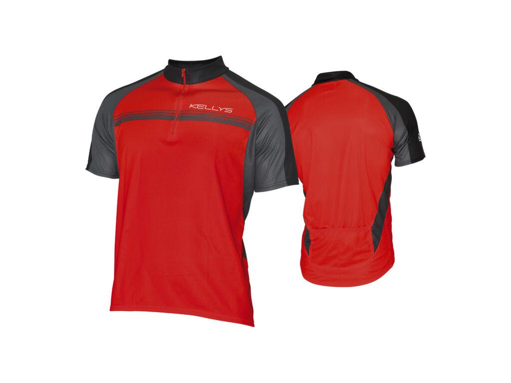 KELLYS Pro Sport rövid ujjú mez / red