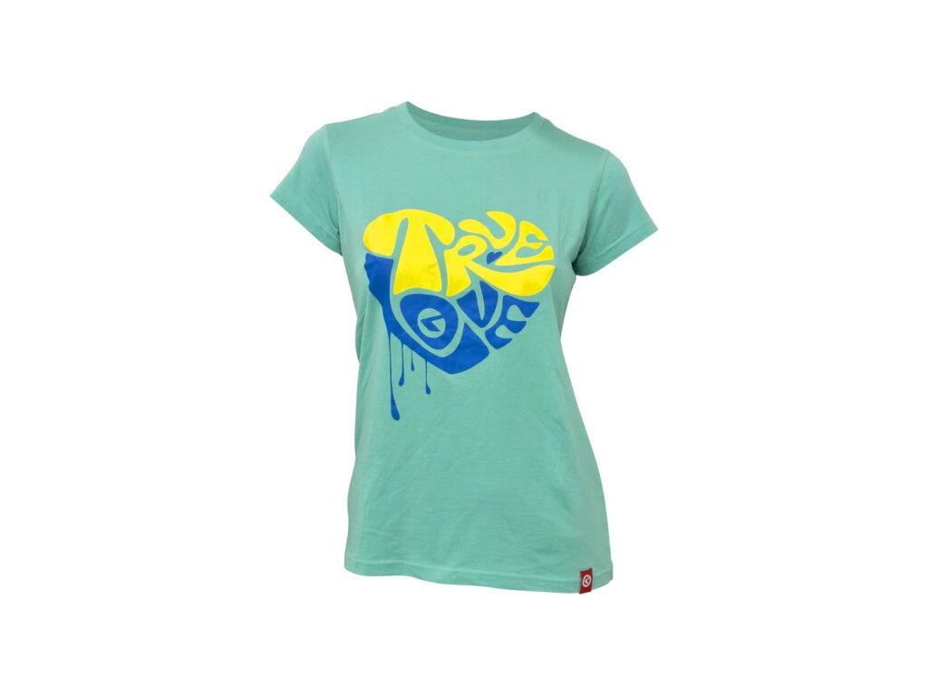 KELLYS WOMEN´S TRUE LOVE rövid ujjú póló, türkizkék