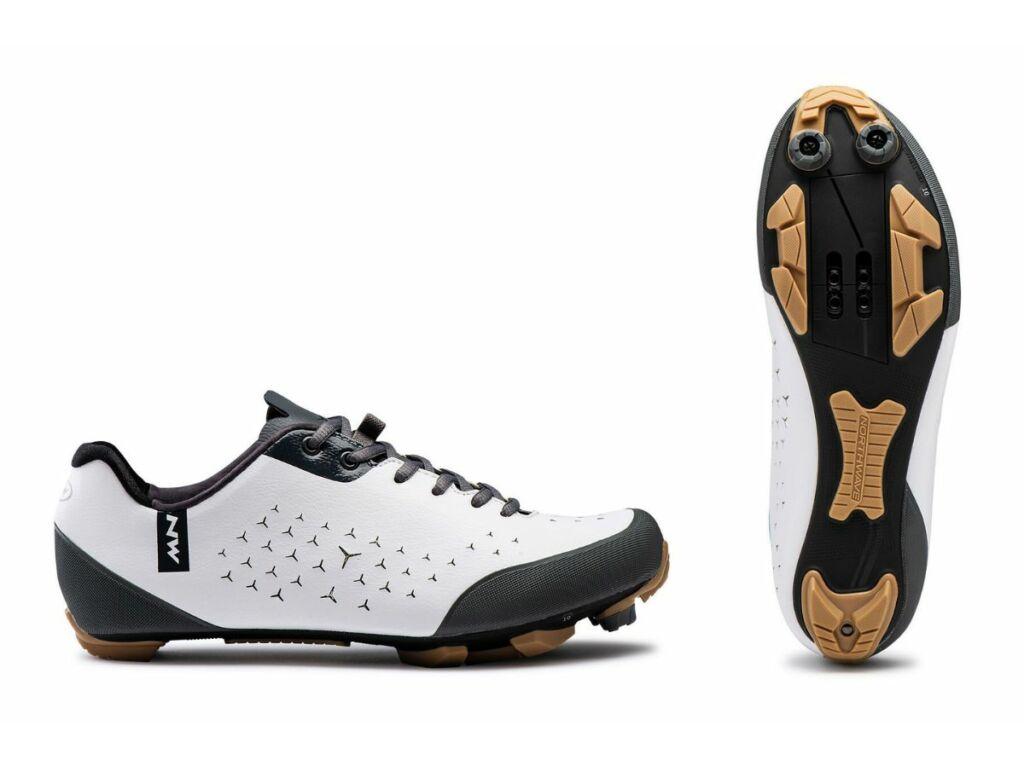 NORTHWAVE Gravel Rockster kerékpáros cipő - fehér