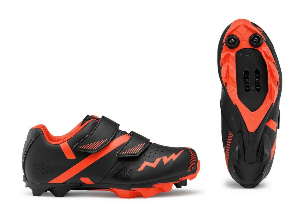 NORTHWAVE MTB Hammer 2 Junior kerékpáros cipő, fekete/piros