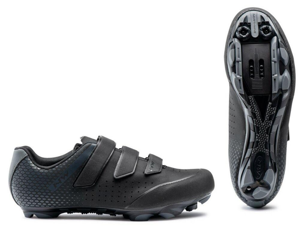 NORTHWAVE MTB Origin 2 kerékpáros cipő, fekete/antracit