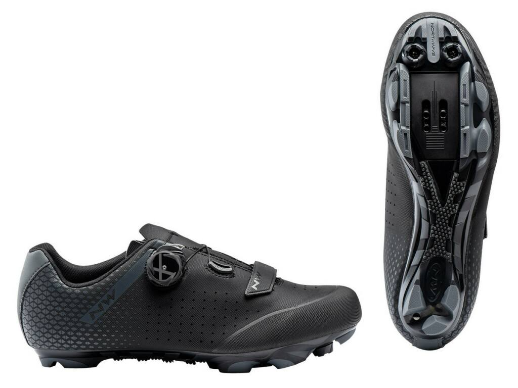 NORTHWAVE MTB Origin Plus 2 kerékpáros cipő, fekete/antracit