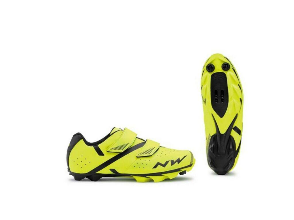 NORTHWAVE MTB Spike 2 kerékpáros cipő, fluo sárga/fekete
