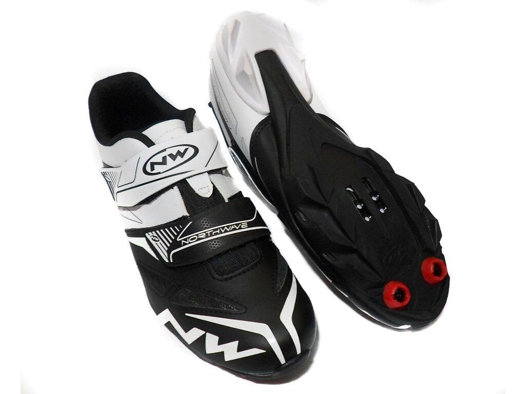NORTHWAVE MTB Spike EVO kerékpáros cipő, fehér/fekete