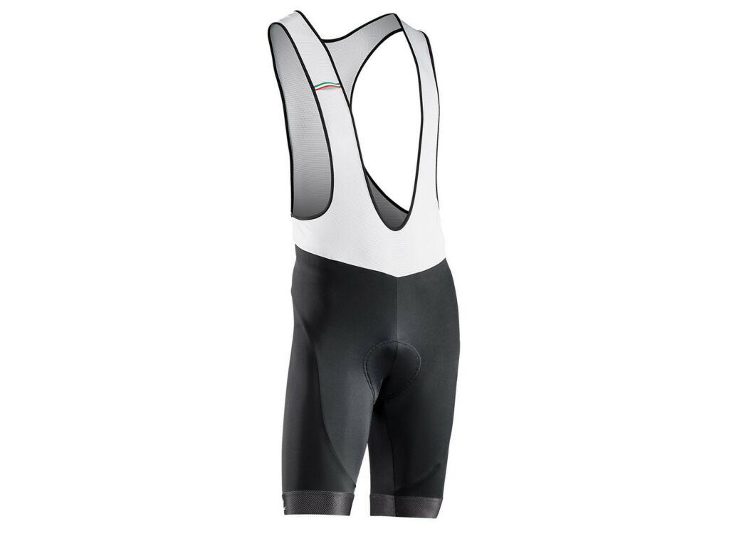 NORTHWAVE Origin rövid, kantáros kerékpáros nadrág, fekete/fehér