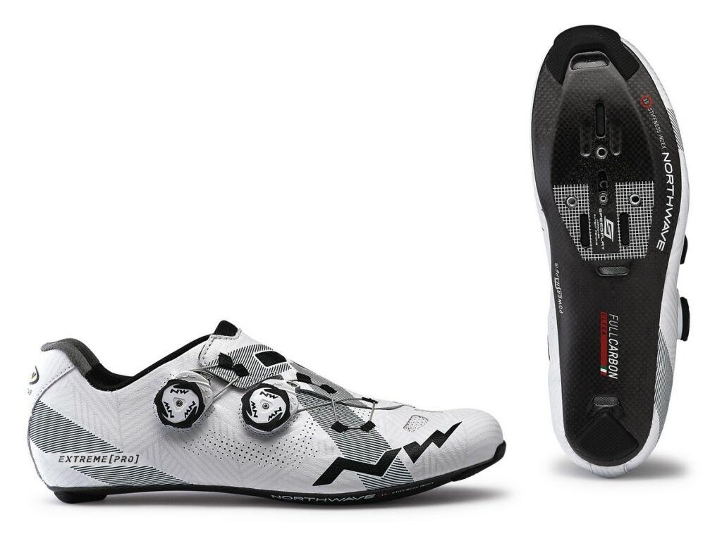 NORTHWAVE Road Extreme Pro kerékpáros országúti cipő, fehér