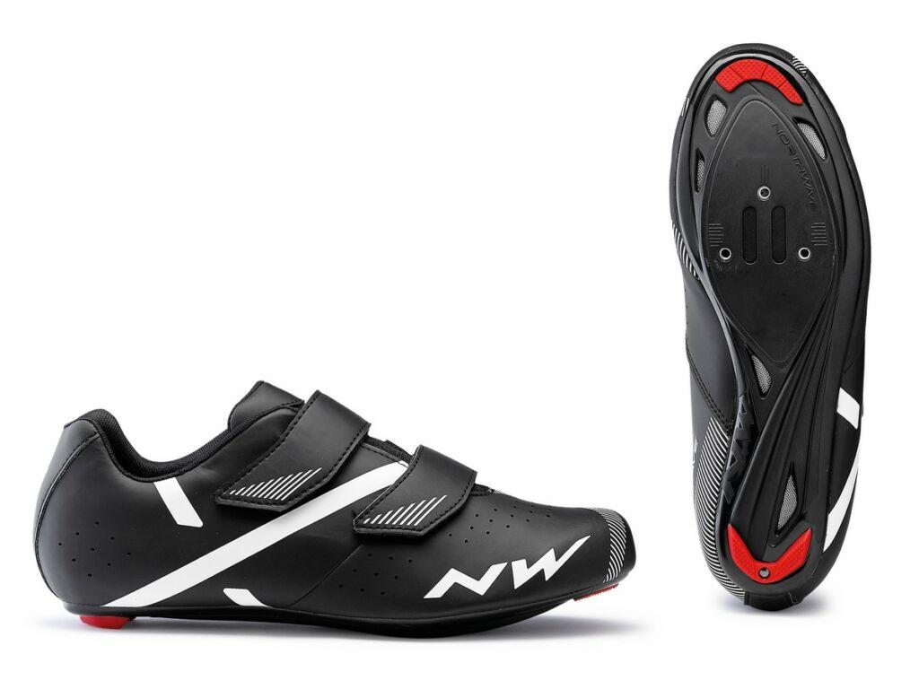 NORTHWAVE Road Jet 2 kerékpáros országúti cipő, fekete