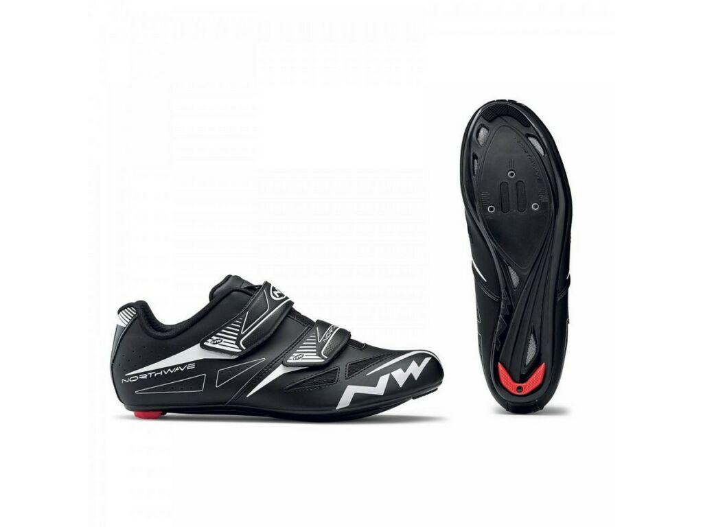 NORTHWAVE Road Jet EVO kerékpáros országúti cipő, fekete