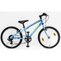 """CSEPEL WOODLANDS ZERO 20"""" 6SP 20 ALU gyerek kerékpár, matt kék"""
