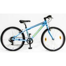 """CSEPEL WOODLANDS ZERO 24"""" 6SP 20 ALU gyerek kerékpár, matt kék"""