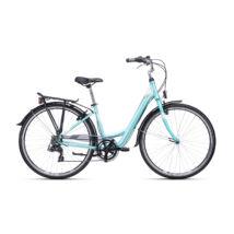 """CTM NANCY 1.0 női városi kerékpár, türkiz / szürke, 17"""" (430)"""
