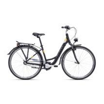"""CTM NANCY 2.0 női városi kerékpár, matt fekete / barna, 17"""" (430)"""