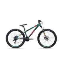 """CTM RAPTOR 2.0 dirt kerékpár, matt military zöld / piros, 14"""""""