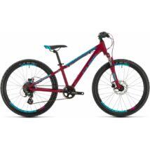 """Cube Access 240 Disc Girl 2020 lány gyermek MTB kerékpár, berry'n'aqua'n'pink, 24"""""""