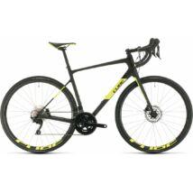 Cube Attain GTC Race 2020 országúti kerékpár, carbon'n'flashyellow, 50