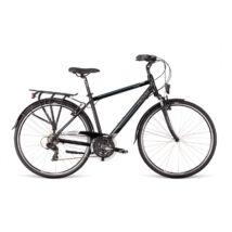 Dema AROSA 1.0 férfi túra kerékpár, fekete / kék, 19'