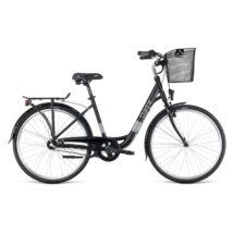 """Dema CLARICE 26 3sp városi kerékpár, fekete, 17"""""""