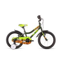 DEMA Drobec 16FW gyermekkerékpár, sötétzöld