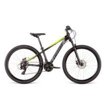 DEMA ROCKET 26 gyermekkerékpár, fekete / neonsárga