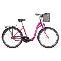 """Dema SILENCE városi kerékpár, magenta-pink, 17"""""""