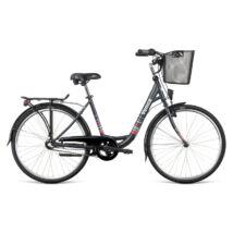 """Dema VENICE 26 3sp városi kerékpár, szürke, 17"""""""