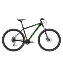 """KELLYS MADMAN 50 27.5"""" MTB XC kerékpár, fekete/ / zöld, S"""